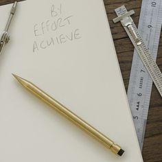 Modern Fuel Design Brass Mechanical Pencil
