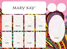 As a Mary Kay Independent Consultant, I do my best to pay attention to the smallest of details.  I make my own color inserts to match the Mary Kay products we will be using, the party theme, what the Hostess enjoys!