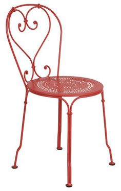 1900 chair by fermob - Salon De Jardin En Fer Color