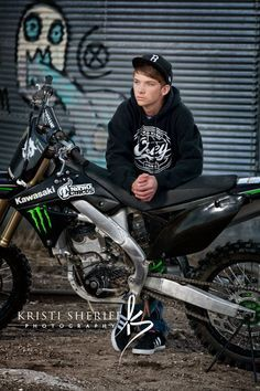 senior pictures with motorcycles - Google Search
