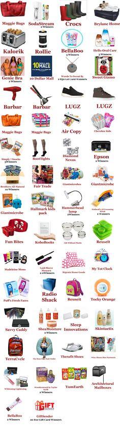 Back To School Items - 150 Winners!