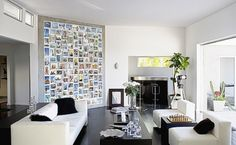 Have a Photowall in your lounge room