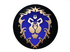 Decoracion de pared con el logo de la Alianza de por PepitosAtelier