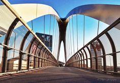 Un ponte sul futuro... Foto di Sergey Bykov #milanodavedere Milano da Vedere