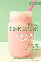 Learn how to make this keto pink drink from Starbucks at home with this step by step guide and you can save yourself money too by making this at home! Add this easy healthy drink recipe to your keto recipe ideas for a great sugar free pink drink option! Diet Ketogenik, Low Carb Diet, Paleo Diet, Keto Diet Foods, Ketosis Diet, Low Carb Drinks, Healthy Drinks, Healthy Fats, Ketogenic Recipes
