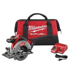 Milwaukee M18 FUEL 18-Volt 7-1/4 in. Lithium-Ion Cordless Rear Handle Circular Saw Kit with 12.0 Ah Battery and Rapid Charger-2830-21HD - The Home Depot Cordless Circular Saw, Circular Saw Blades, Milwaukee Tools, Milwaukee M18, Ultimate Garage, Cordless Power Tools, Saw Tool, Led Work Light