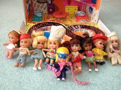 The were a golden era for toys. Do you remember these toys from then? 1960s Toys, Retro Toys, 1970s Dolls, 90s Childhood, Childhood Memories, Doll Toys, Baby Dolls, Vintage Dolls, Vintage Toys 1970s