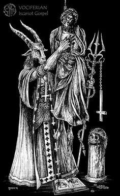 Iscariot Gospel Chris Moyen Goat Lord Judas
