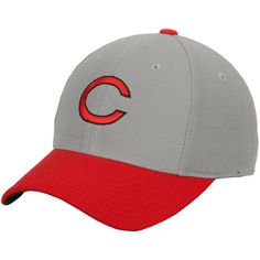 Cincinnati Reds American Needle Cooperstown Fitted Hat - Gray