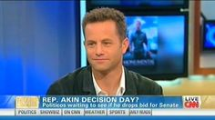 Kirk Cameron defends Todd Akin: 'I respect him' - WHAT!?  doofus.