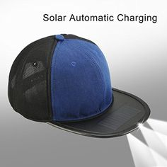 SUNBATT Hunting Hat Fishing Cap with Solar Rechargeable Power LED Lights for Baseball Sports Outdoors Bicycle Men Women   http://huntinggearsuperstore.com/product/sunbatt-hunting-hat-fishing-cap-with-solar-rechargeable-power-led-lights-for-baseball-sports-outdoors-bicycle-men-women/