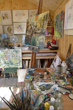 Tapete Gold, Art Hoe Aesthetic, Aesthetic Painting, Images Esthétiques, Art Studios, Art Inspo, Art Drawings, Artsy, Room Decor