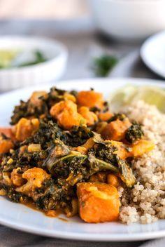 easy sweet potato kale and quinoa curry quinoa curry sweet potato kale ...