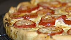 Tarte au thon, à la moutarde et aux tomates - Page 2 à 2 - Astuces Au Feminin Chorizo, Pepperoni, Bacon, Pie, Fruit, Breakfast, Desserts, Recipes, Quiches