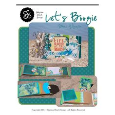 Let's Boggie Mini Album (holds 90+  4x6 photos) from Sharina Shack