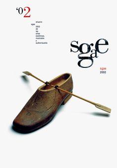Portada del anuario 2002 editado por la Sociedad General de Autores y Editores.