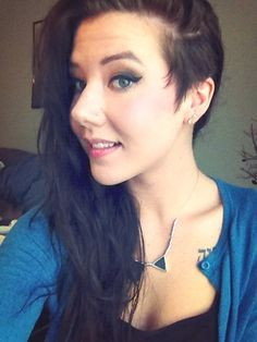 women side shave hair 2015 - Google Search