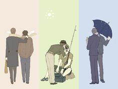 Hannibal & Will: Seasons by mixed-blessing.deviantart.com on @deviantART