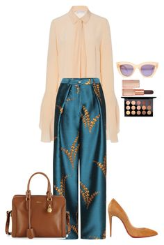 """""""Untitled #714"""" by julia-cccix ❤ liked on Polyvore featuring Nellie Partow, Christian Louboutin, Quay, Illamasqua, Alexander McQueen and MAC Cosmetics"""