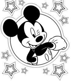 Desenhos para colorir do Mickey Mouse 7