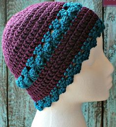 You'll feel like a goddess in this Just Divine Hat. With gorgeous crochet clusters and a unique edge, this is the free crochet hat pattern of your dreams.