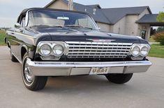 1962 Chevrolet Impala ... Convertible, black exterior