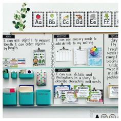 83 Best Classroom Organization Ideas - Chaylor & Mads <br> The best ideas in classroom organization This includes the best ideas to organize your bookshelves, create an epic teacher cart, plus create the perfect space just for you! First Grade Classroom, New Classroom, Classroom Design, Classroom Objectives, Setting Up A Classroom, Classroom Supplies, Year 3 Classroom Ideas, Ideas For Classroom Decoration, Classroom Agenda Board