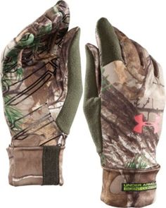 Under Armour® Women's Scent-Control Liner Gloves #CamoSale