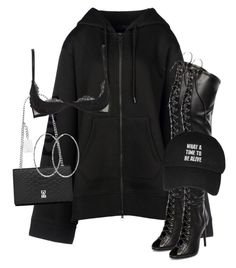 """""""Untitled #3739"""" by xirix ❤ liked on Polyvore featuring Puma, Yves Saint Laurent, Schutz and Christies"""