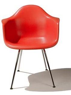 Eames Molded Plastic - Side Chair - Herman Miller