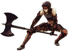 Hume Warrior - Characters & Art - Final Fantasy XI