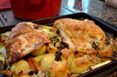 A Cook and Her Books: Weeknight Roast Chicken with Vegetables