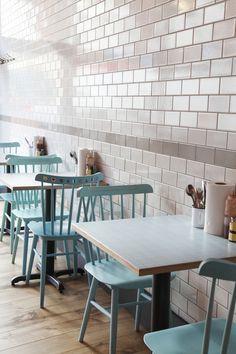 Central Design Studio Chooks restaurant in London