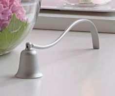 beautiful silver-tone snuffer, a safe way to extinguish your #candles