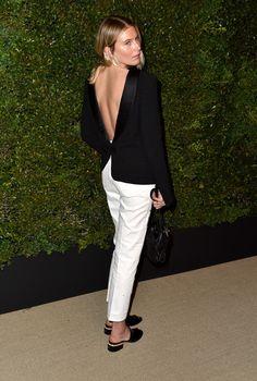 b71aa7e01 Dree Hemingway Tweed Jacket. Chanel Gabrielle Bag ...