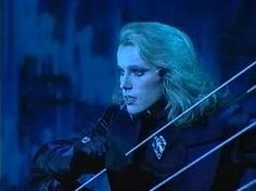 "Uwe Kröger as ""Death"" in the original production of Elisabeth in Vienna"