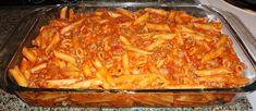 Olasz paradicsomos tészta a sütőből! Jobb mintha Olaszországban ebédelnél… csodás! :)