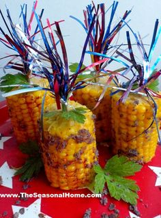 crunchy corn on the cob  These were really easy to make and really delicious.  Everyone loved them!  Overall: 5/5