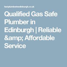 Qualified Gas Safe Plumber in Edinburgh Edinburgh, Amp, House, Home, Haus, Houses