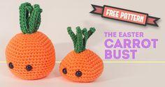 Amigurumi Carrot Bust - FREE Crochet Pattern / Tutorial