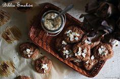 Przepis na Ciastka jaglane z rodzynkami i bananami, bez cukru   Ciastka   Biblia Smaków