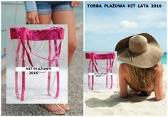 NOWOŚĆ 2016*Torba plażowa przezroczysta torebka*