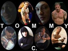 A COLLAGE I MADE FOR MY BRAWLER TOMMY CONLON