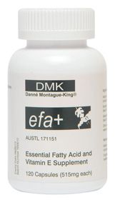 Danne {DMK efa+}  Essential fatty acids (efa) are an essential nutrient required for healthy glowing youthful skin strong nails and shiny thick healthy hair.