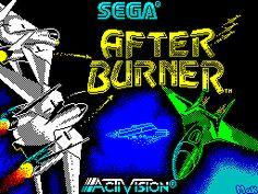 Afterburner Loading screen Spectrum