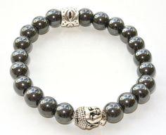 8mm Magnetic Hemalyke Buddha Bracelet, $15