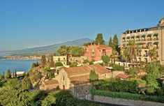 Boutique Hotel in the center of Taormina with a panoramic view of the sea and Mount Etna. Experience the magic of Sicily. Honeymoon Getaways, Honeymoon Hotels, Best Honeymoon, Sicily Villas, Sicily Hotels, Small Luxury Hotels, Best Hotels, Luxury Apartments, Taormina Sicily