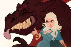Your Favorite Game of Thrones Characters Drawn by Disney - Answers.com