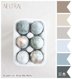 Neutral - Color Palette  http://inspiresweetness.blogspot.com