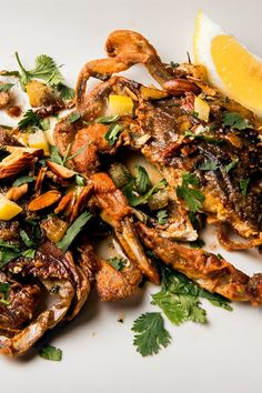 Soft-Shell Crab With Preserved Lemon and Almonds Recipe - NYT Cooking